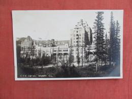 RPPC-   Canada > Alberta > Banff CPR  Hotel Ref 3101 - Banff
