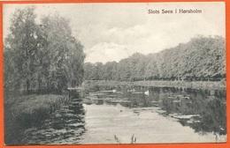 DK193, * SLOTS SØEN I HØRSHOLM * SENT To LYNGBY 1910 - Danemark