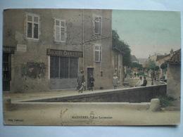Maidieres Rue Lanternier Couleur Belle Carte - France