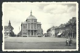 +++ CPA - SAINT GHISLAIN - Grand'Place Et Hôtel De Ville - Nels  // - Saint-Ghislain