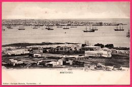 Uruguay - Montevideo - Panorama - Playa - Mer - Voilier - Ed. ENRIQUE MONEDA N° 17 - Uruguay