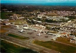 Gd Format :environ 15cms X10cms -ref Y293- Aviation -avions -avion -guadeloupe -aeroport De Pointe A Pitre - - Aérodromes