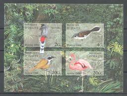X828 1999 D'HAITI FAUNA BIRDS 1KB MNH - Vögel