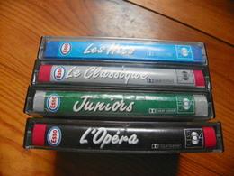 Lot De 4 Cassettes Audio ESSO - Cassettes Audio