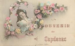CP SOUVENIR DE CAPDENAC - Francia