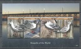 X830 2014 GRENADA BIRDS SEAGULLS OF THE WORLD 1KB MNH - Vögel