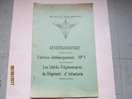 COURS ECOLE - EXERCICE EMBARQUEMENT - UNITES REGIMENTAIRES DU R.I. - Livres
