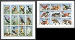 X831 LIBERIA FAUNA BIRDS 2SH MNH - Vögel