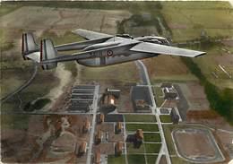 Gd Format :environ 15cms X10cms -ref Y287- Aviation -parachutisme -militaires Militaria - Avion 2501-survol De La Betap - Paracadutismo