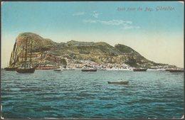 Rock From The Bay, Gibraltar, C.1905-10 - Benzaquen Postcard - Gibraltar