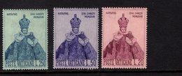684637456 VATICAN 1968 POSTFRIS MINT NEVER HINGED POSTFRISCH EINWANDFREI SCOTT 464 466 HOLY INFANT OF PRAQUE - Luxembourg