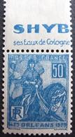 R1680/265 - 1929 - JEANNE D'ARC - N°257 (I) NEUF* - France