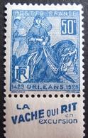 R1680/266 - 1929 - JEANNE D'ARC - N°257 (I) NEUF* - France