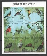 X834 LIBERIA FAUNA BIRDS OF THE WORLD 1SH MNH - Vögel
