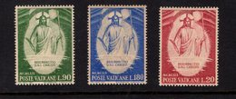 684638377 VATICAN 1969 POSTFRIS MINT NEVER HINGED POSTFRISCH EINWANDFREI SCOTT 467 469 THE RESURRECTION BY FRA ANGELINO - Luxembourg