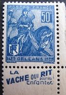 R1680/267 - 1929 - JEANNE D'ARC - N°257 (I) CdF NEUF* - France