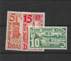 1935 MNH Danzig,Michel 256-8,  Postfris** - Dantzig