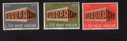 684639505 VATICAN 1969 POSTFRIS MINT NEVER HINGED POSTFRISCH EINWANDFREI SCOTT 470 472 EUROPA ISSUE - Luxembourg