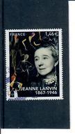 Yt 5170 Jeanne Lanvin-cachet Rond - France