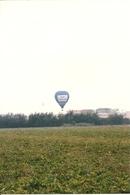 Aerostato (Mongolfiera) In Decollo, N. 2 Fotografie, Ballon à Air Chaud, Hot Air Balloon - Aviazione
