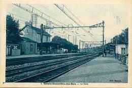 -depts Div.-ref-AE683- Essonne - Sainte Genevieve Des Bois - Gare - Inteireur - Gares - Ligne De Chemin De Fer - - Sainte Genevieve Des Bois