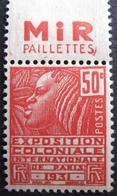 R1680/269 - 1930 - N°272b (II) BdF NEUF** (trace Charnière Sur BdF) - France