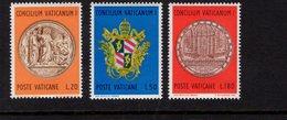 684640822 VATICAN 1970 POSTFRIS MINT NEVER HINGED POSTFRISCH EINWANDFREI SCOTT 484 486 CENTENARY MEDAL JESUS GIVING KEYS - Luxembourg