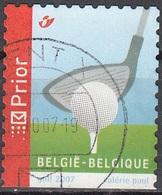 Belgique 2007 COB 3605 O Cote (2016) 0.60 Euro Golf Cachet Rond - Belgique