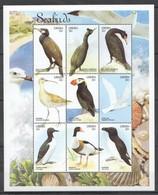 X845 LIBERIA FAUNA BIRDS SEABIRDS 1KB MNH - Vögel