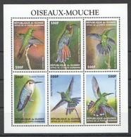 X846 DE GUINEE FAUNA BIRDS OISEAUX-MOUCHE 1KB MNH - Vögel