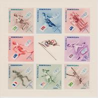 BLOCS/FEUILLETS REPUBLIQUE DOMINICAINE  JEUX OLYMPIQUES  DE MELBOURNE 1956 - Summer 1956: Melbourne