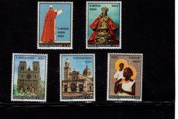 684641860 VATICAN 1970 POSTFRIS MINT NEVER HINGED POSTFRISCH EINWANDFREI SCOTT 495 499 POPE PAUL VI FAR EAST OCEANIE AUS - Luxembourg