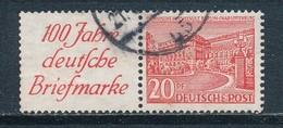 Berlin Zusammendruck W 13 Gestempelt Mi. 100,- - [5] Berlin