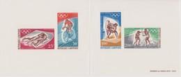 BLOCS/FEUILLETS ROUMANIE  JEUX OLYMPIQUES  DE ROME 1960 - Zomer 1968: Mexico-City