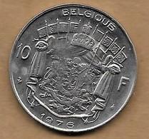 10 Francs 1976 FR - 1951-1993: Baudouin I