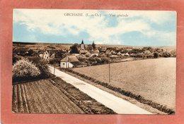 CPA - ORCHAISE (41) - Aspect De L'entrée Du Bourg Dans Les Années 30 - France