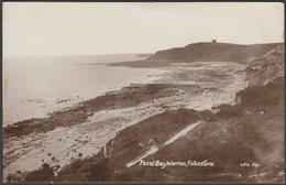 Fossil Bay, Warren, Folkestone, 1910 - HB's RP Postcard - Folkestone
