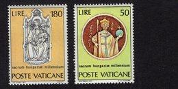 684648835 VATICAN 1971 POSTFRIS MINT NEVER HINGED POSTFRISCH EINWANDFREI SCOTT 513 514 ST STEPHEN - Luxembourg