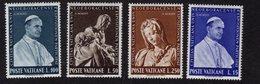 684651340 VATICAN 1964383 POSTFRIS MINT NEVER HINGED POSTFRISCH EINWANDFREI SCOTT 383 386 NEW YORKS WORLD S FAIR - Luxembourg