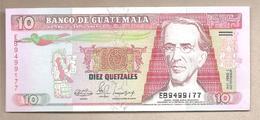 Guatemala - Banconota Non Circolata FdS Da 10 Quetzales P-75b.1 - 1991 - Guatemala
