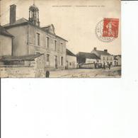 51-ARCIS LE PONSART MAIRIE ECOLE CONSTRUITE EN 1849 PLI COIN HAUT GAUCHE - France