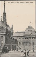 Palais De Justice Et Sainte-Chapelle, Paris, C.1910 - Le Deley CPA - Paris (04)