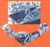 étiquette + Collerette De Champagne Brut Cuvée An 2000 André Fays à Celles Sur Ource - 75 Cl - Champagne