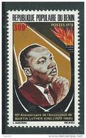 Benin N° 418 X 10ème Anniversaire De La Mort Du Pasteur Martin Luther King, Trace De Charnière Sinon TB - Bénin – Dahomey (1960-...)