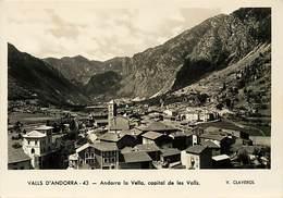 Gd Format :environ 15cms X10cms -ref Y270- Andorre - Andorra - Valls D Andorra - Andorra La Vella - - Andorre