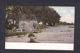 USA ME South Portland Fish House On The Beach At Willard ( The Hugh C. Leighton Co) - Portland