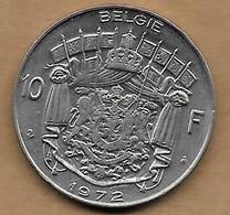 10 Francs 1972 FL - 1951-1993: Baudouin I