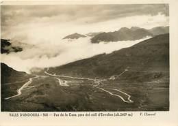 Gd Format :environ 15cms X10cms -ref Y266- Andorre - Andorra - Valls D Andorra - Pas De La Casa Pres D Envalira - - Andorre