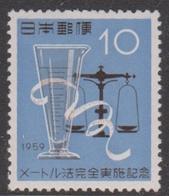 Japan SG804 1959 Adoption Metric System, Mint Never Hinged - 1926-89 Emperor Hirohito (Showa Era)