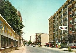 "Alessandria (Piemonte) Via Carlo Marx, Distributore Carburanti ""Mobil"", Rue Charles Marx, Charles Marx Street - Alessandria"